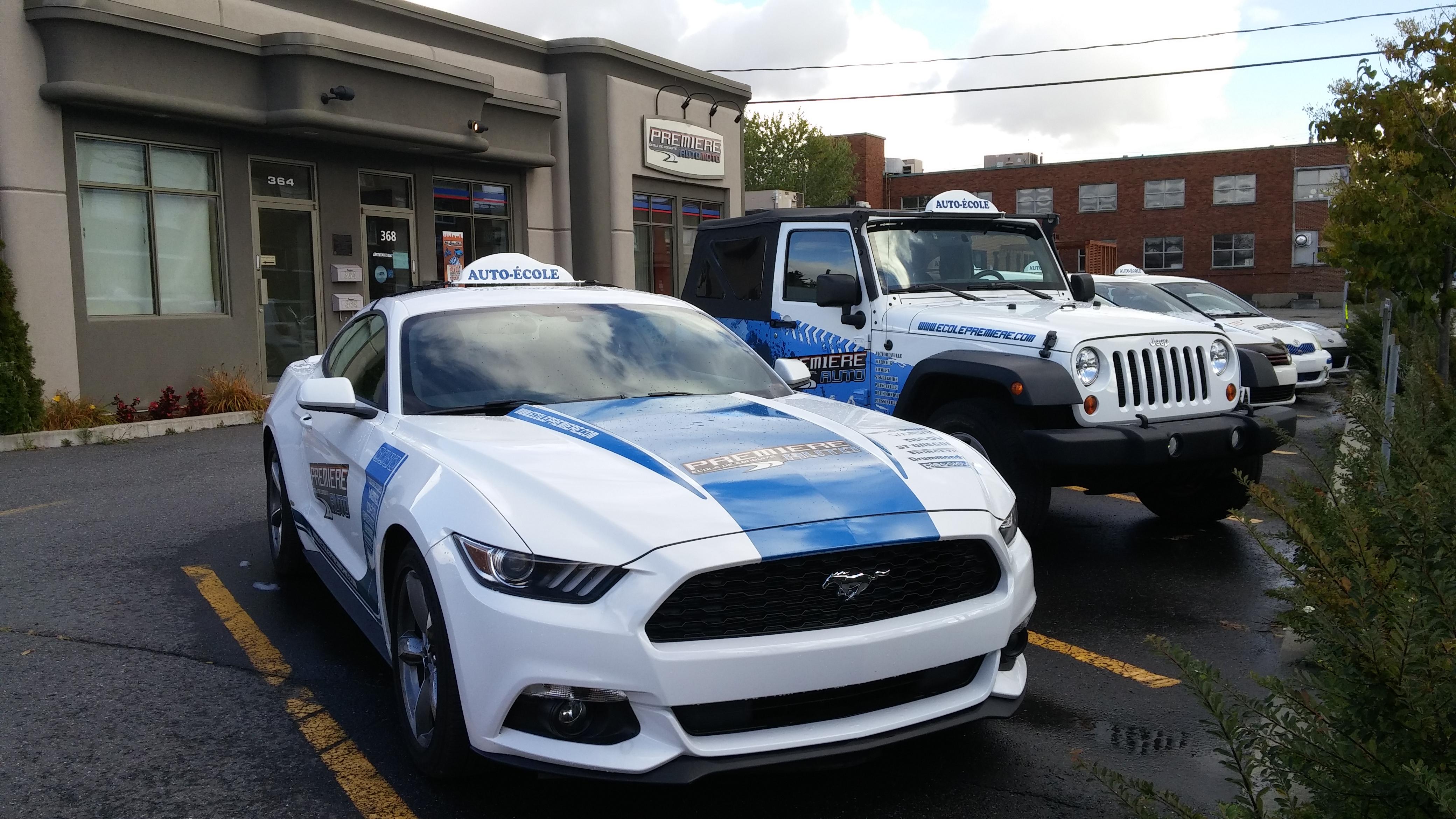 Mustang 2015 Première École de conduite